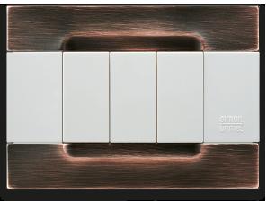 placche per interruttori e placche elettriche design simon urmet