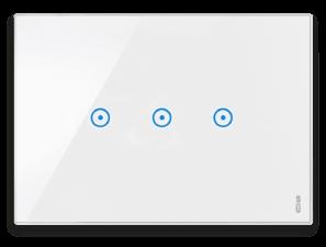 interruttori touch screen casa nea expi bianco